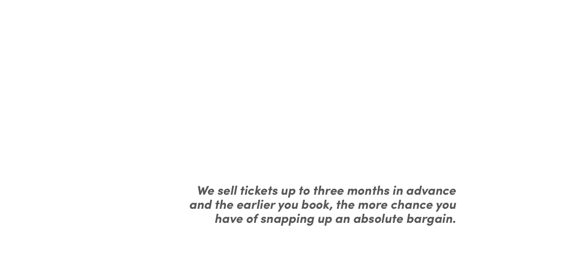 Think ahead, save a packet