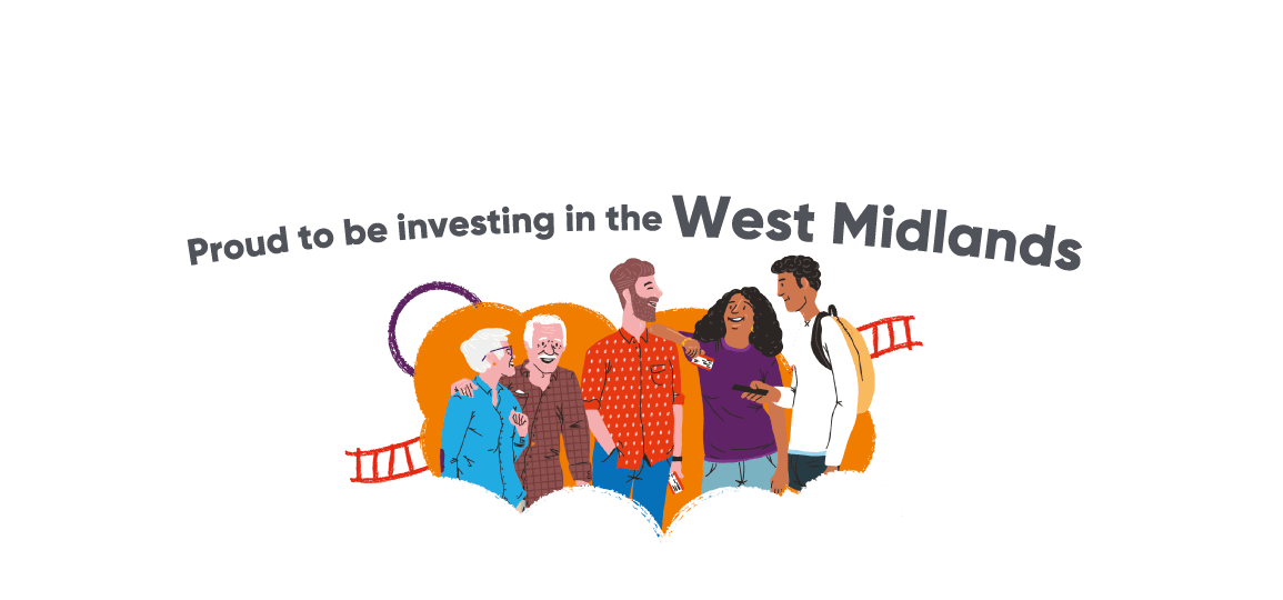 Proud To Be Investing In The West Midlands