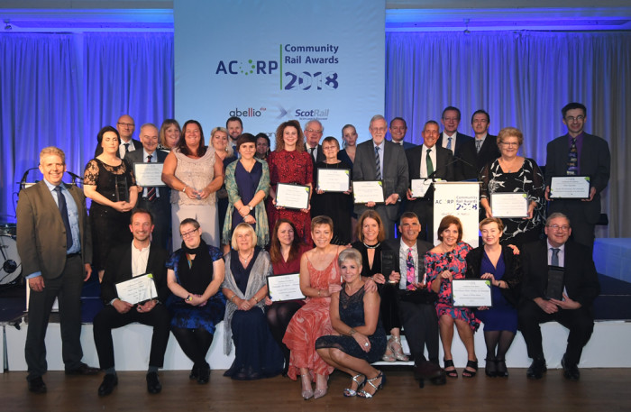 Entries now open for prestigious Community Rail Awards