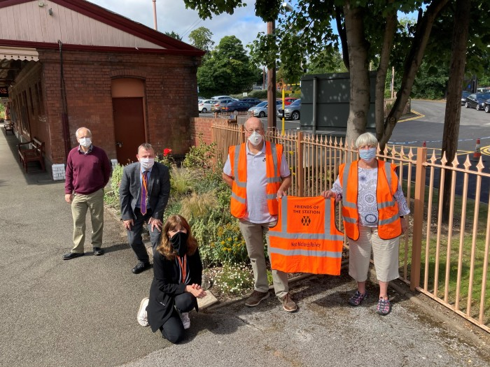 New lease of life for West Midlands rail line as volunteers step forward