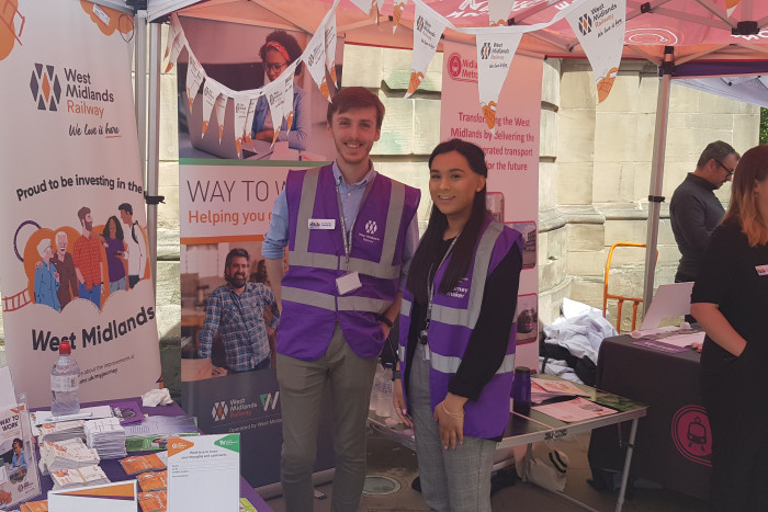 West Midlands Railway supports successful Clean Air Day event hosted by Colmore BID