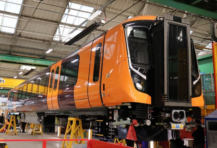 ​Rail passengers in the West Midlands given sneak peek of brand new electric train fleet for Birmingham's Cross-City Line