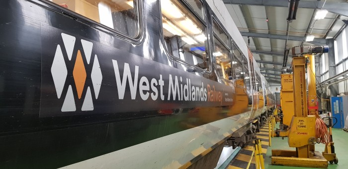 A range of improvements are being made to trains on the Cross City line