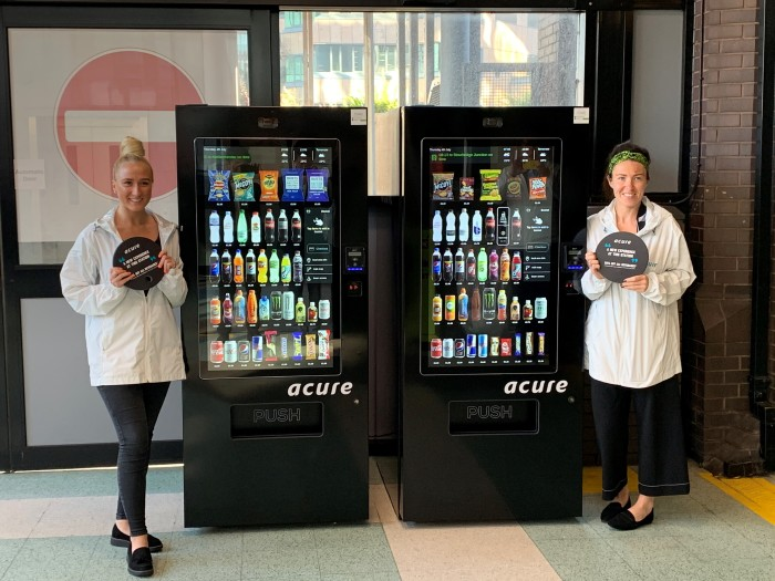 Passengers benefit as cashless Japanese vending machines debut in West Midlands