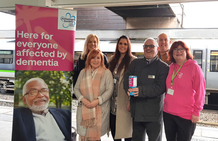 Staff commit to making rail travel more dementia friendly
