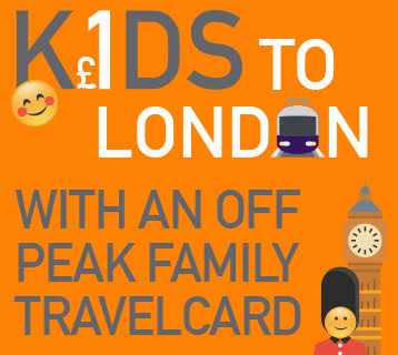 Kids to London for £1
