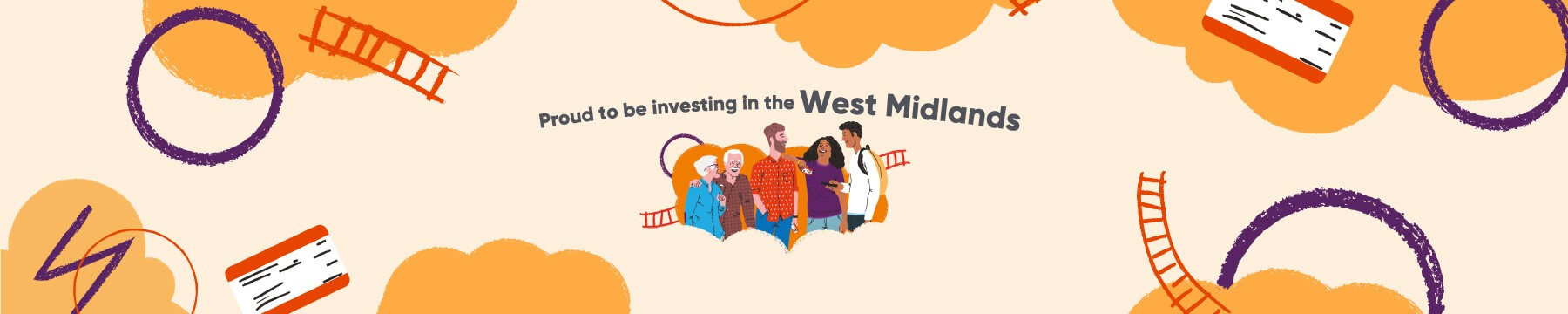 proud to be investing in the west midlands banner