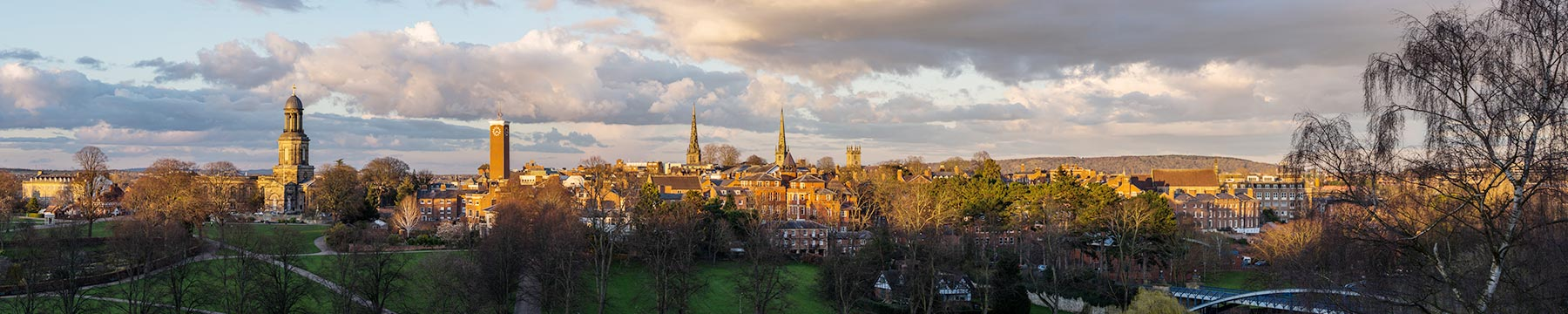Shrewsbury panorama