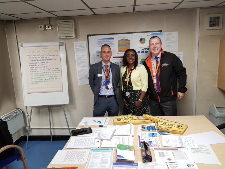 West Midlands Railway at the Health and Wellbeing event