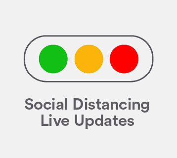 Social Distancing Live Updates
